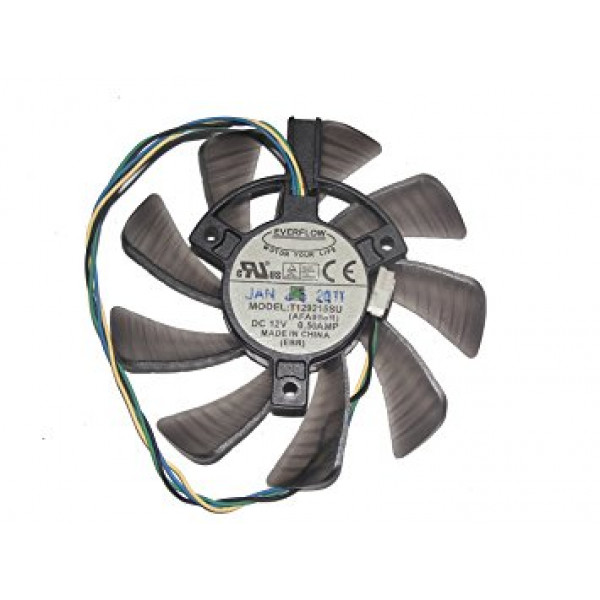 Ventilator placa video ASUS GTX 460 560 HD 6790 6780 T129215SU 4 PINI 12V 0.5A 3 prinderi