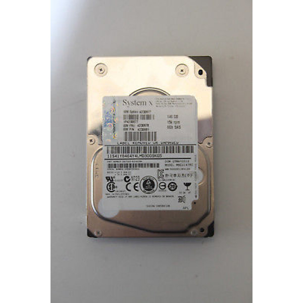 Hard disk server IBM System X 146GB 6G 15K 2.5'' SAS FRU 42D0678 42D0636