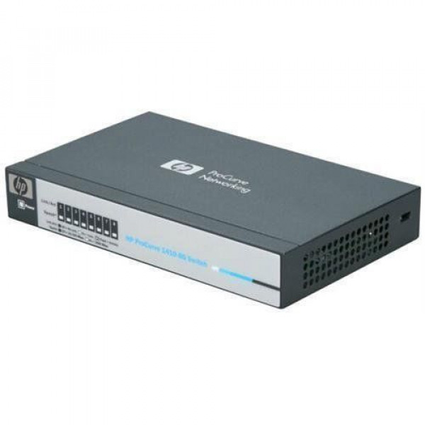 Switch Unmanaged HP ProCurve 1410-8G Gigabit Ethernet 8 Ports - 8 x RJ-45 -10/100/1000 Layer 2 J599A