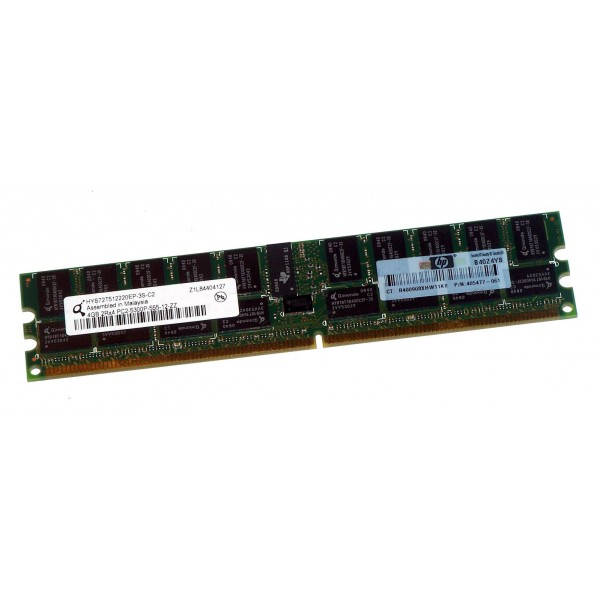 Memorie server HP 4GB 2RX4 PC2-5300P-555-12 ATENTIE ! NU MERGE PE PC