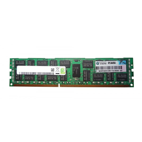 Memorie server diverse modele HP 4GB DDR3 2RX4 PC3-10600R-09-10-E1-P1 500203-061 501534-001