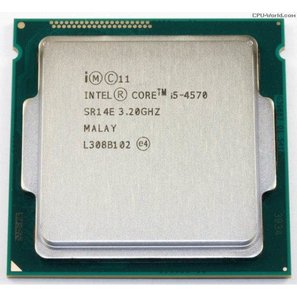 Procesor PC Intel Core Quad i5-4570 SR14E 3.2Ghz LGA 1150