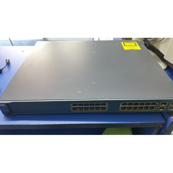 Switch Cisco Catalyst WS-C3560G-24PS-S Gigabit POE 24 ports Layer 3