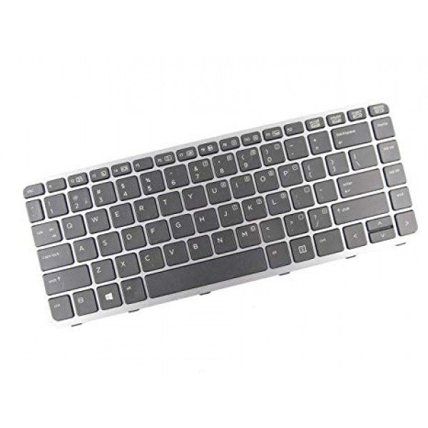 Tastatura laptop noua HP Elitebook Folio 1040 G1 Silver Frame Black US