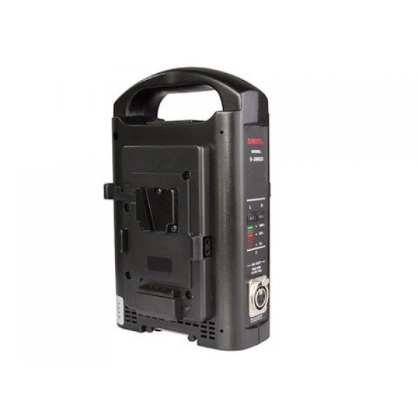 SWIT S-3802S V-Mount Charger/Adapter for Sony and SWIT V-Mount Batteries (2-Channel)