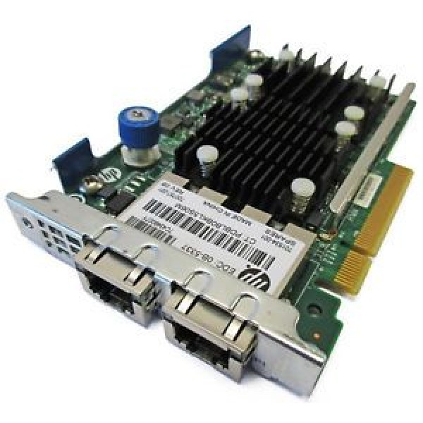 Placa de retea server Dual Port RJ45 HPE FlexFabric 10Gb 533FLR-T 701534-001 7000757-001