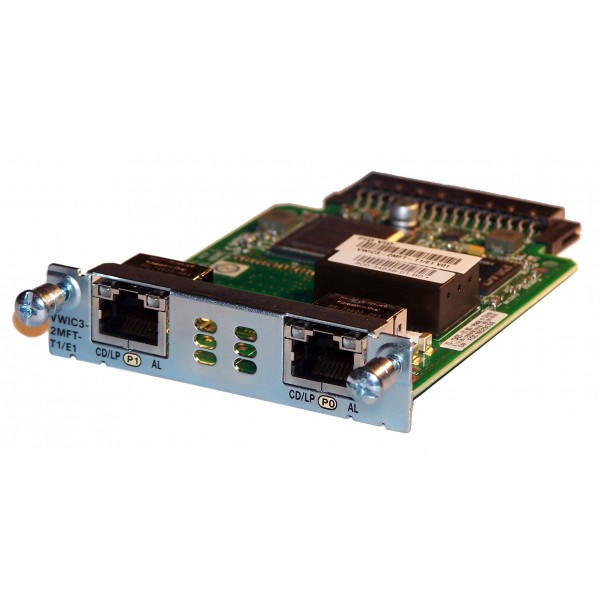 Modul Cisco VWIC3-2MFT-T1/E1 2-Port 3rd Gen Multiflex Trunk Voice/WAN