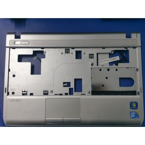 Palmrest cu mufa alimentare si power button laptop SONY VPCY11S1E