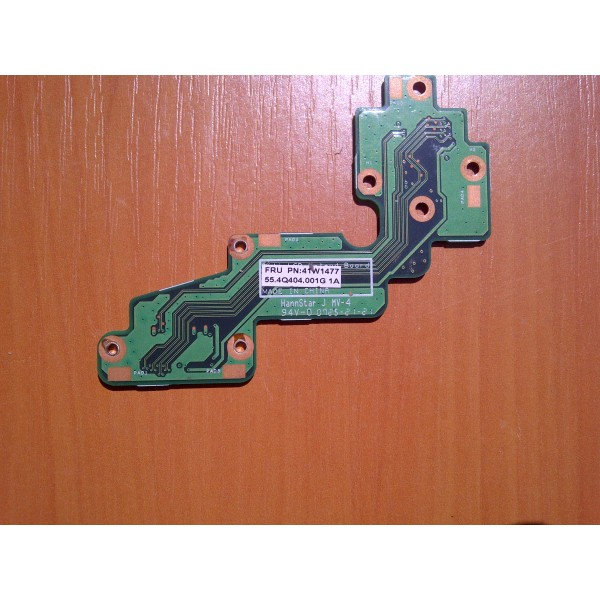 Placa conector Lenovo ThinkPad X60 Tablet (41W1477)