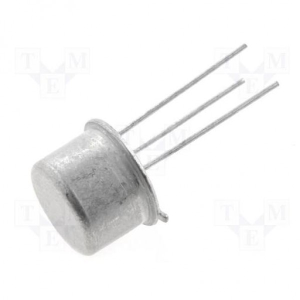 TRANSISTOR NPN 40V 0.8A 0.5W 300MHZ TO18