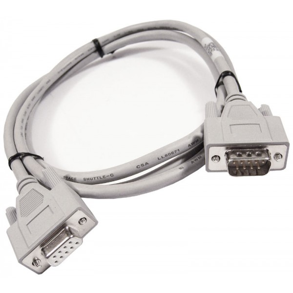 Cablu serial HP 128558-001 M-F 6FT 1.8M 9-Pin Cable NEW 154020-001