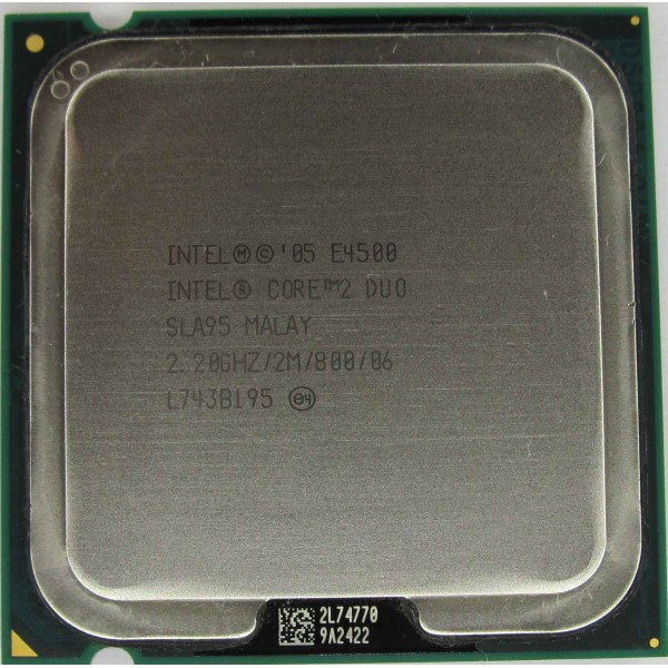 Procesor PC SH Intel Core 2 Duo E4500 SLA95 2.2Ghz 2M LGA 775