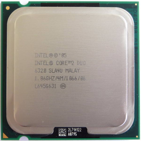 Procesor PC SH Intel Core 2 Duo E6320 SLA4U 1.86Ghz 4M LGA 775