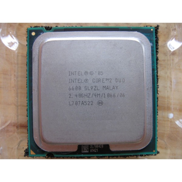 Procesor PC SH Intel Core 2 Duo E6600 SL9ZL/SL9S8 2.4Ghz 4M LGA 775
