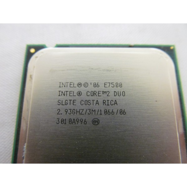 Procesor PC SH Intel Core 2 Duo E7500 SLGTE / SLB9Z 2.93Ghz 3M LGA 775