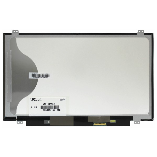 Display laptop nou LTN140AT20 14'' WXGA HD 1366X768 40 pin